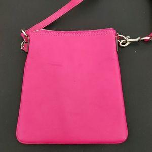 Coach Bags - Hot Pink Coach Crossbody Handbag